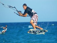 Saltos de kitesurf