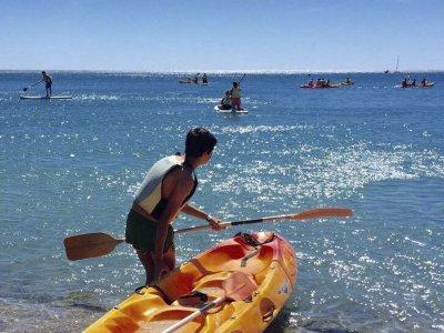 Alquiler kayak individual en L´Ametlla de Mar 1h