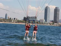 Lifting the flight with the parascending