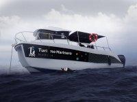 Barca da turismo marino