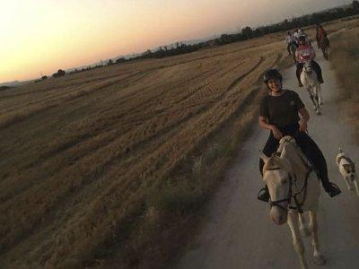 Horseback tour through Jarama River, Madrid 1 hour