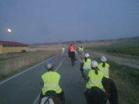 Ruta a caballo nocturna agosto 2011