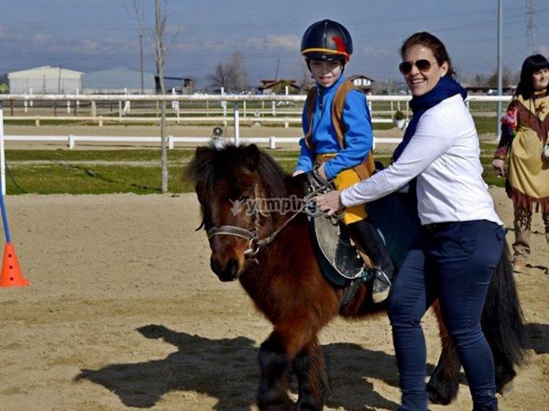 与我们的小马一起享受一个下午