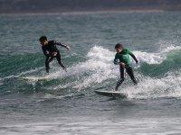 Surf class at Ladeira beach in Corrubedo 2 h