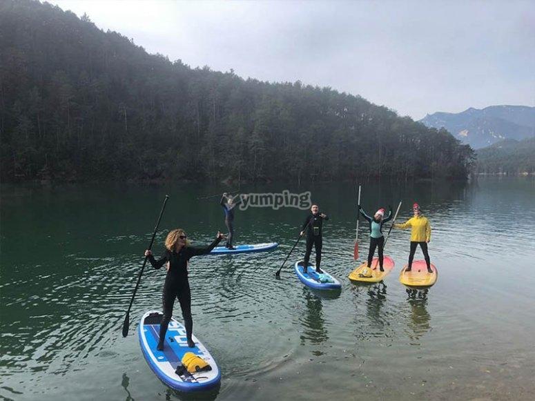 家庭练习桨冲浪