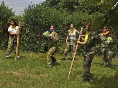 Gymkhana Robin Hood para grupos en Asturias