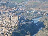 托莱多路径塔霍和城堡
