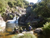 Canyoning e bungee jumping a Ponte Caldelas