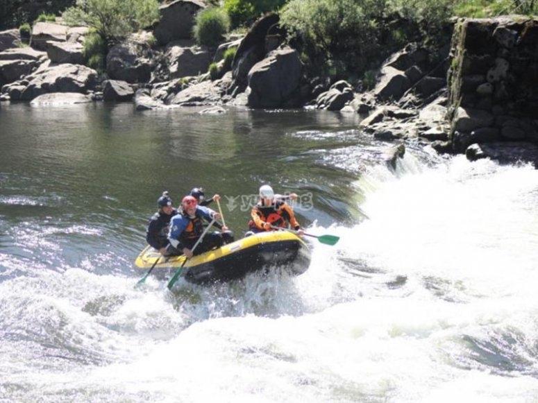 Rafting pomeridiano con i colleghi