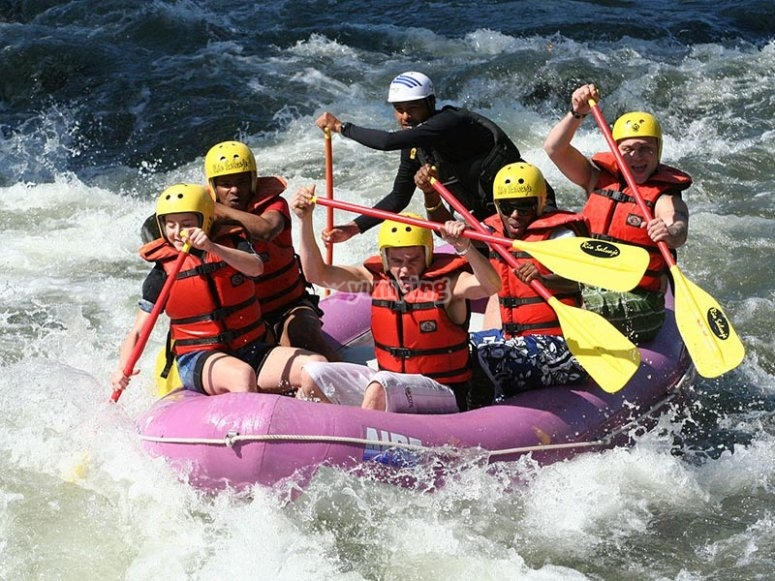 Rafting pomeridiano