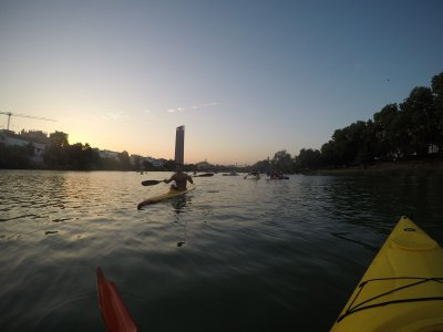 Canoe ride on Guadalquivir river Seville 2 h