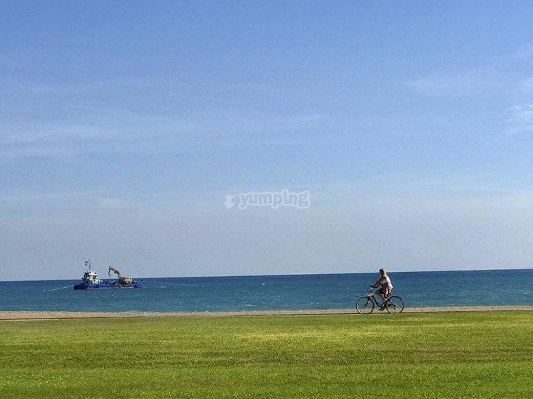 Vistas de la Playa de les Amplaries