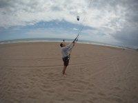 Flying the kite