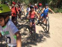 Salida campestre en bici