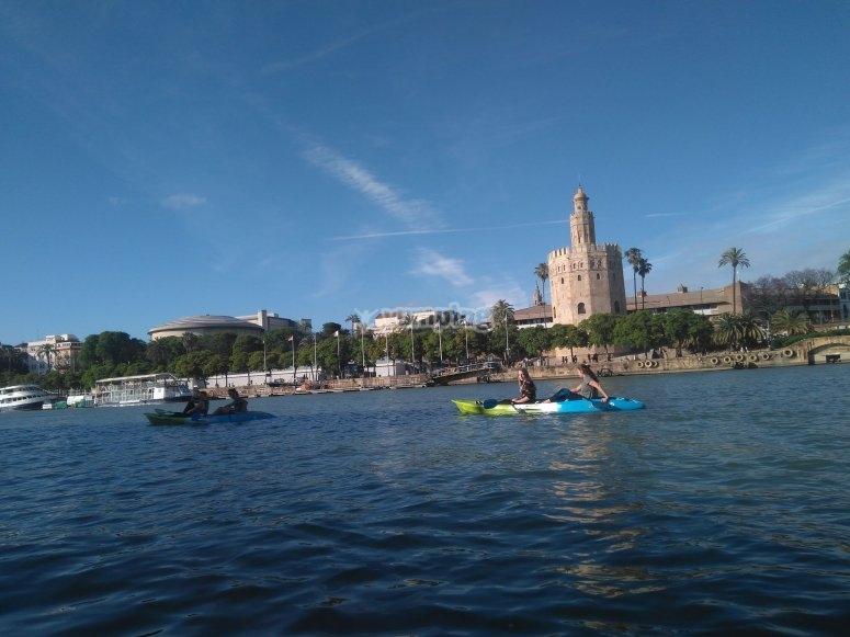 Ruta en canoa por el Guadalquivir
