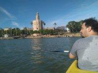 Canoe tour on the Guadalquivir in Seville 2 h