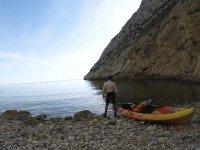 Canoe route to Cueva de las Palomas 3 hours