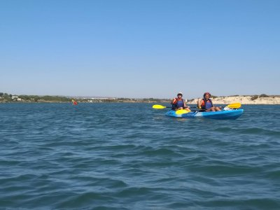 Kayak tour in the Marismas de Odiel 1 day