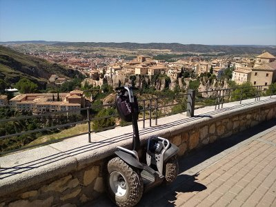 Segway route through the old town of Cuenca 1 h