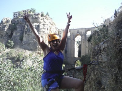 Via ferrata in the Tajo de Ronda and guided tour