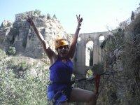 Via ferrata in the Tajo de Ronda and guided tour