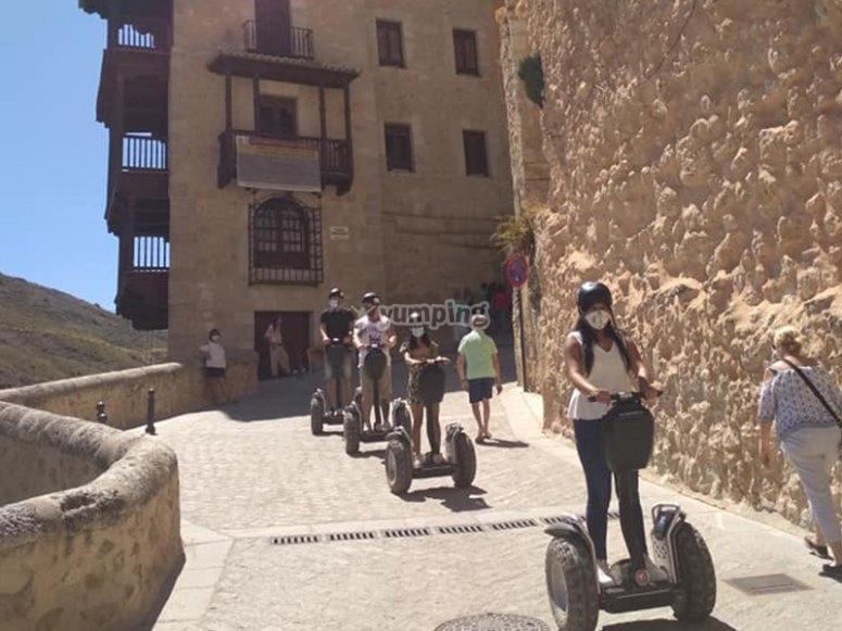 Recorriendo Cuenca en segway
