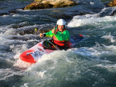 Guadiela river whitewater canoe route 2 h