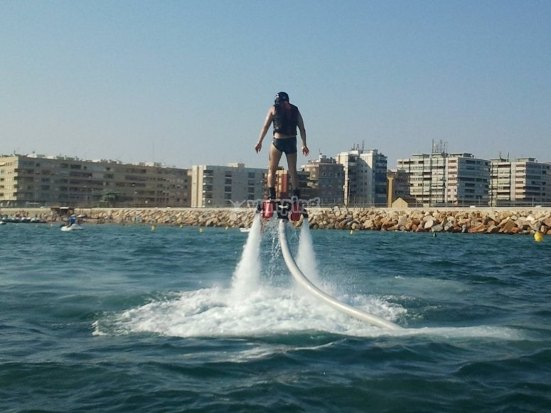 Flyboard a Torrevieja