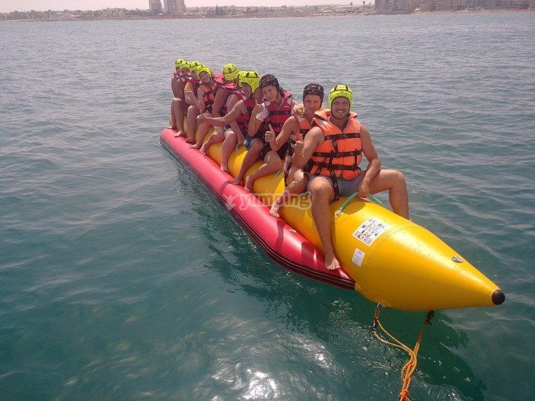 Tutti a bordo della banana