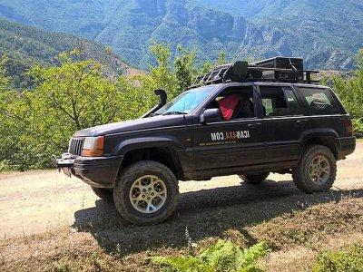 引导4x4路线穿越昆卡山脉6小时