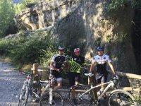 穿越Cabrejas的山地自行车路线4小时