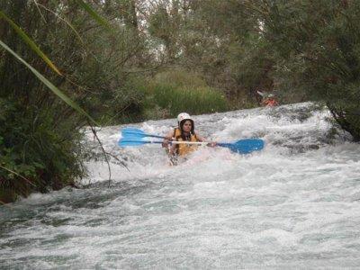 拉斯容塔斯昆卡州的激流独木舟