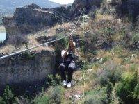 拉链线和射箭电路Sacedón3小时