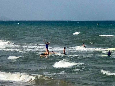 冲浪和英语营Oropesa del Mar 2周