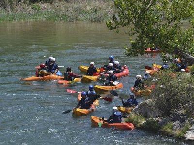 Travesía en canoa por el río Cabriel 1 hora