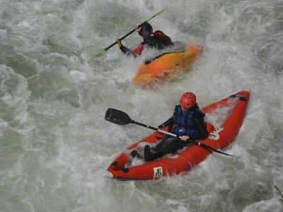Ruta en canoa por rápidos del río Cabriel 1 hora