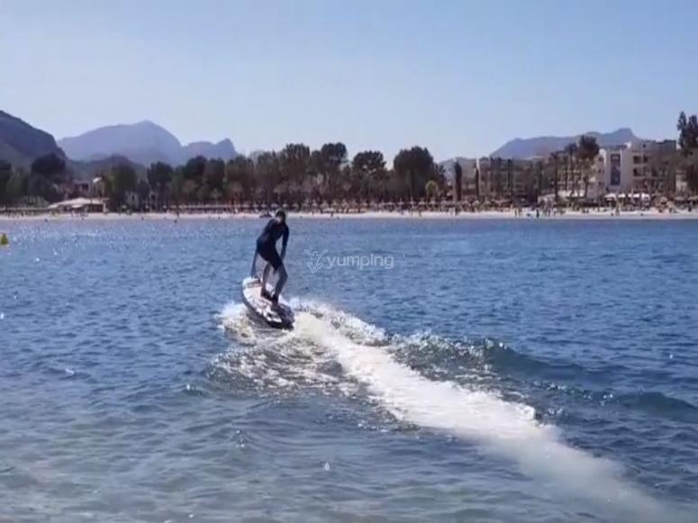 Jetboard en Alcudia
