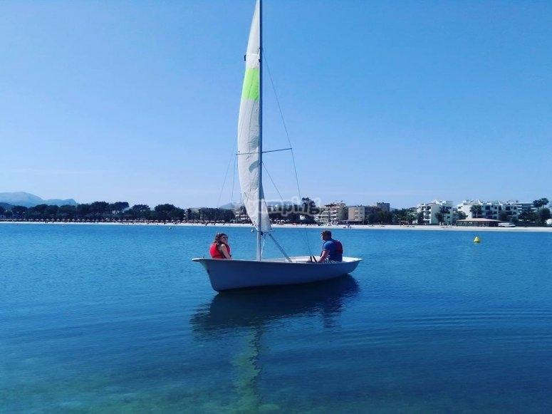 Paseo en velero por Mallorca