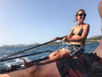 Giro in catamarano nella baia di Alcudia 1 ora