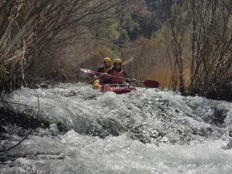 Ruta en canoa por el Alto Tajo