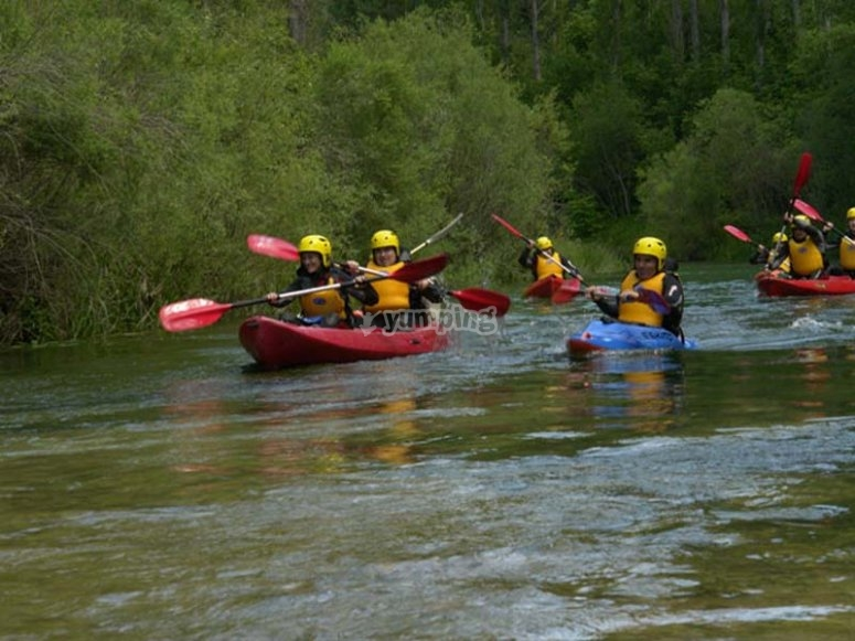 Navigare in canoa