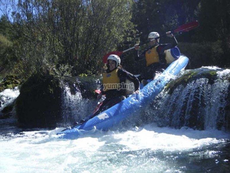 Godersi una giornata in canoa