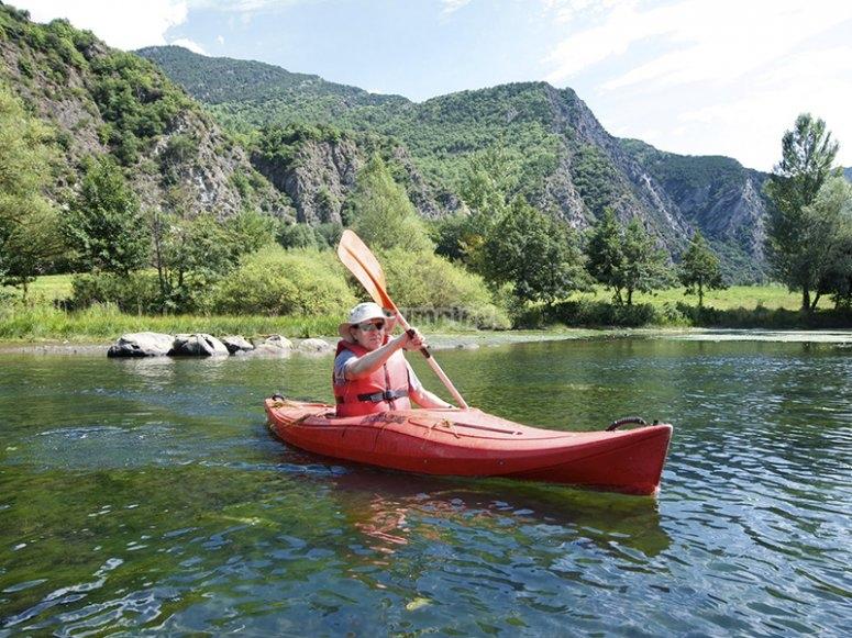 享受皮划艇