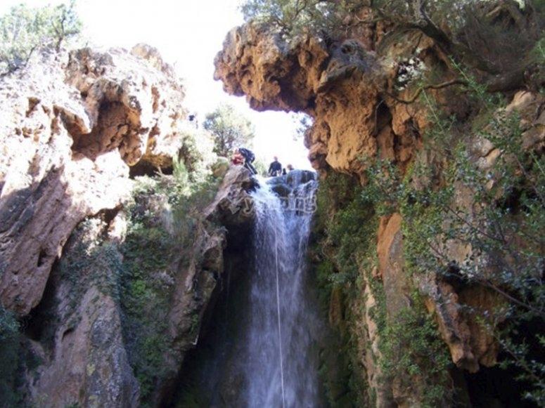 Conociendo cascadas del Barranco de la Dehesa
