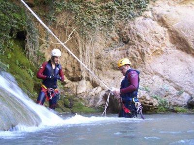 Barranco de Hociquilla nivel 4 Serranía de Cuenca
