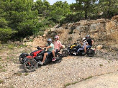 Ruta en ryker por la Sierra de Irta en Alcocébre