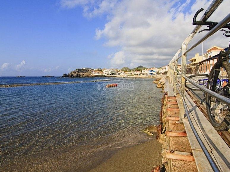 Bella Vista Beach in the Mar Menor