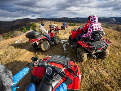 Two-seater quad route through La Cerdaña 2 hours
