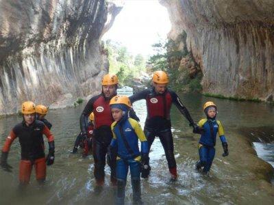 Los Cortados de Villalba的溪降1级