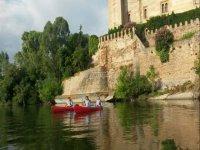 Ruta en piragua por el río Tajo en Bernuy 2 h y 30